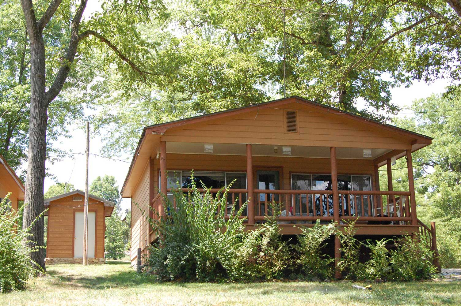 Hickory Hollow Resort Table Rock Lake Cabin 7 Exterior