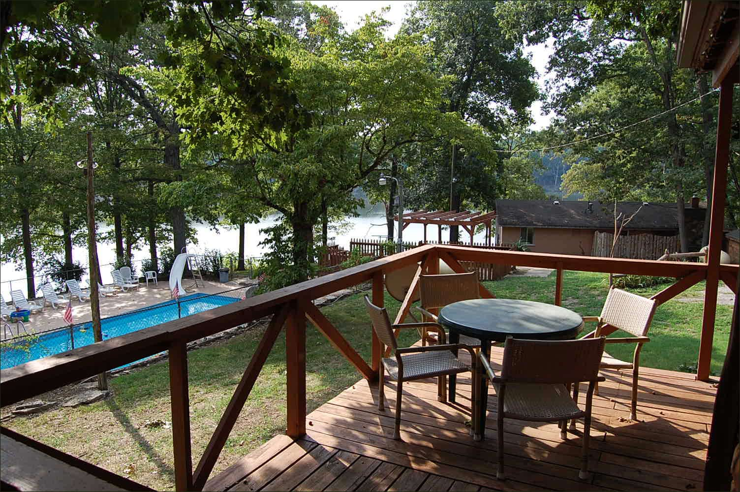 lake hickory exterior cabin hollow knob our rock shell mo cabins info resort table lodging