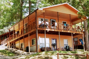 table rock lake hickory hollow resort cabin-11A
