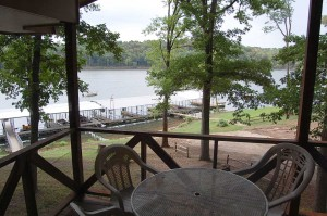 table rock lake hickory hollow resort Cabin 11A-Porch View