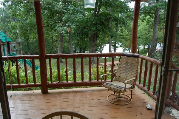 Hickory Hollow Resort Table Rock Lake Cabin 6 Deck