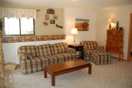 Hickory Hollow Resort Table Rock Lake Cabin 9C Living