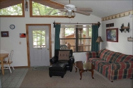 Hickory Hollow Resort Table Rock Lake Carriage House LR 2