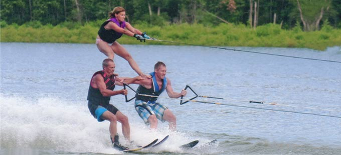 Ski Fun on the Lake