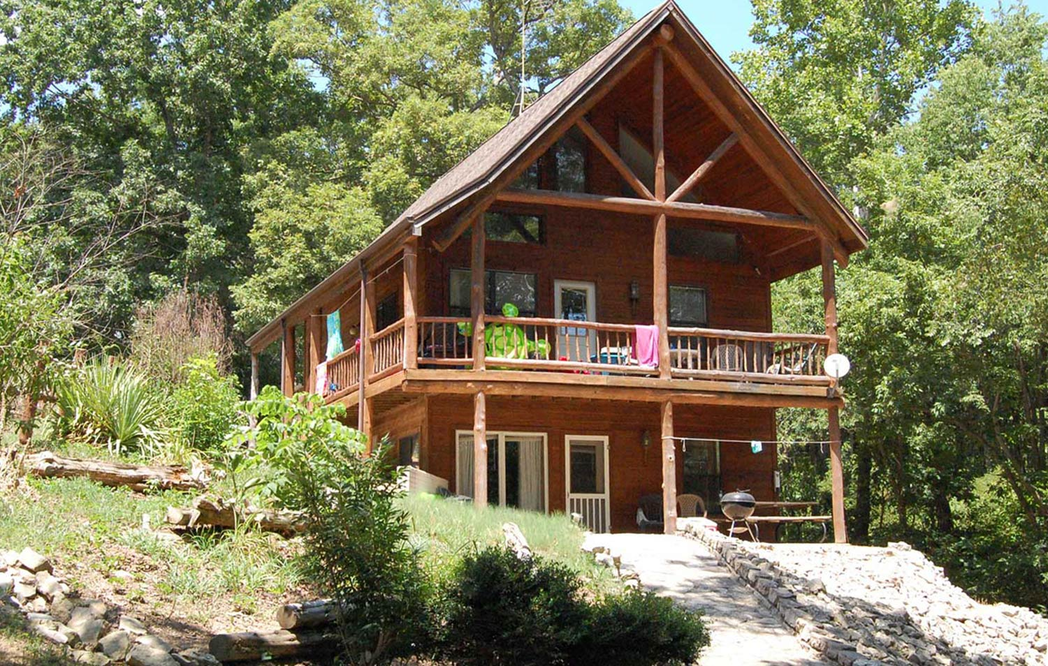 Table rock lake hickory hollow resort-cabin 9C-2019